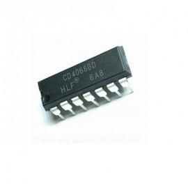 CD4066 Commutateurs...