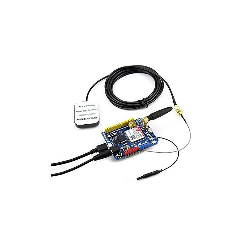 module sim808 gsm gprs gps shield for arduino stm32
