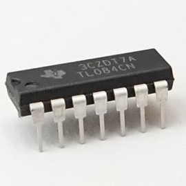 TL084CN JFET Input Quad Op Amp