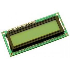 LCD 2X16 VERT/NOIR