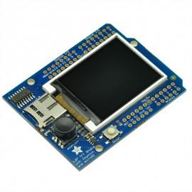 "Adafruit 1.8"" Color TFT Shield w/microSD and Joystick"