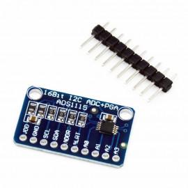 ADS1115 Module 16-Bit ADC -...