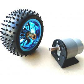 Kit roue cramponnée 85MM...