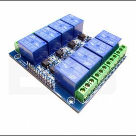Module 8 relais opto-isolés...