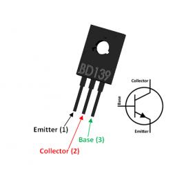 BD139 Transistor simple...