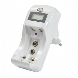 Chargeur Piles LCD AA/AAA/9V