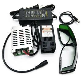 Kit CNC laser 450nm 12V 15W...