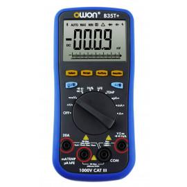 Multimètre numérique Bluetooth professionnel B35T+ True RMS