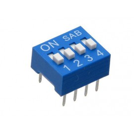 DIPSWITCH 4T