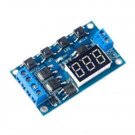 Module timer contrôleur de retard  12V pour moteur d'incubation