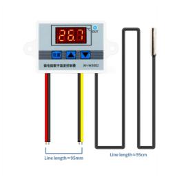 Contrôleur de température pour incubateur thermostat W3002 12V