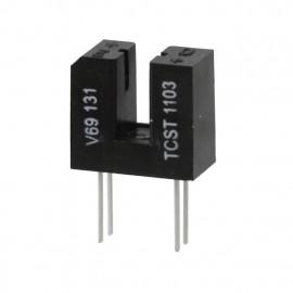 TCST1103 Commutateur optique à fourche Sortie Phototransistor Traversant