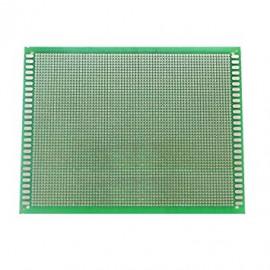 Plaque perforée 10X15 verte...