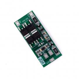 2 S 7.4 V 8.4 V 18650 carte de Protection de batterie au Lithium 20A courant avec équilibrage