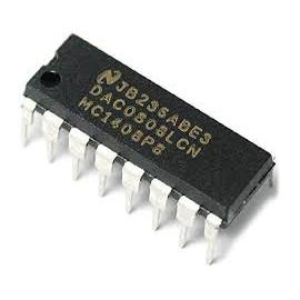 DAC0808 8 bits D/A Converter