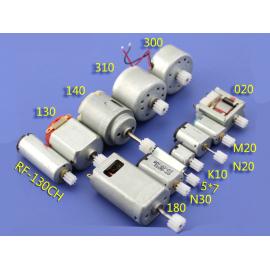 Micro Moteur Double shaft worm RF-130CH