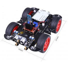 Voiture intelligente Smart Robot Car Kit Compatible avec Arduino