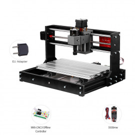Machine CNC 3018 Pro GRBL 3 Axes Et LASER 5.5W