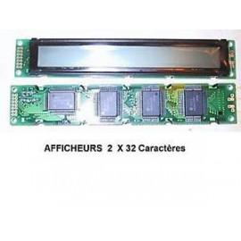 AFFICHEUR LCD 2X32