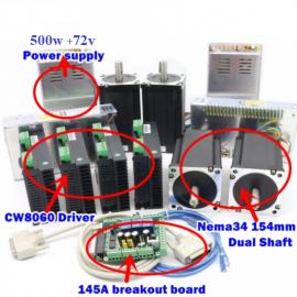 Kit CNC 4 axes 500W