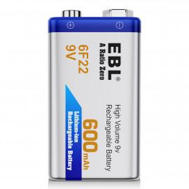 Batterie rechargeable 9V...